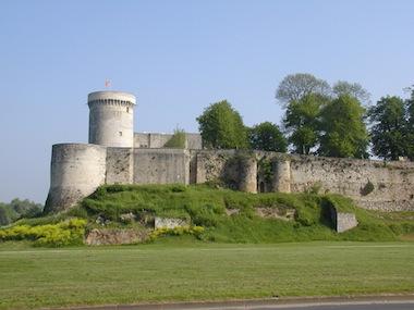 vue château-fort de Falaise