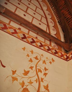 Peintures murale chateau de Guedelon