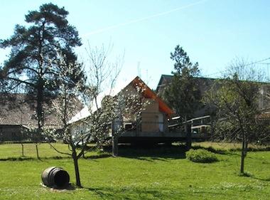 Cabane de trappeur Ferme des Noues