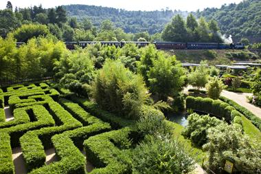 La Bambouseraie le labyrinthe