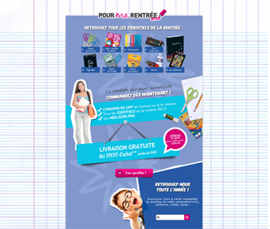 HomePage Pour Ma Rentree