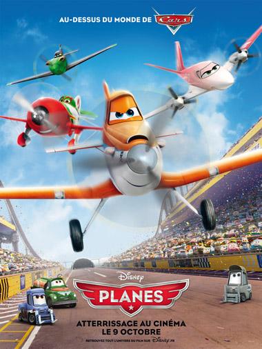 Affiche Planes de Disney