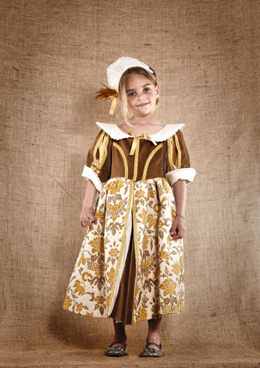 Robe princesse cour du roi soleil