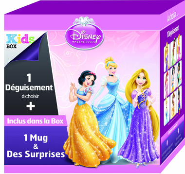 Kids Box disney princesses