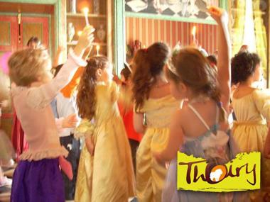 Anniversaire princesses château de Thoiry