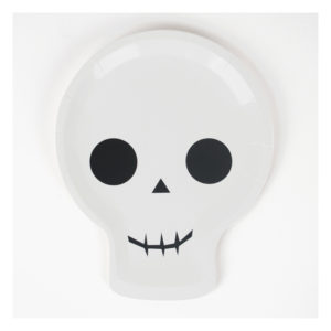 decoration-de-table-anniversaire-enfant-assiettes-halloween-squelette