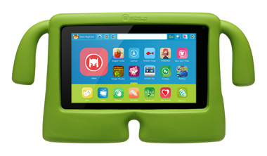 Tablette enfant Memup SlidePad-Kids-Face-paysage