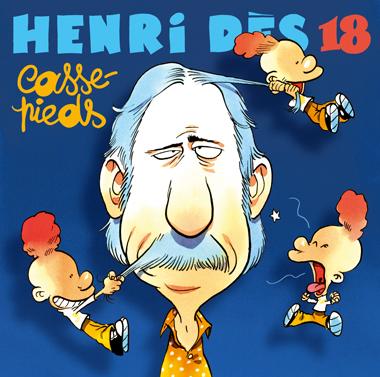 Couverture CD Henri Dès Casse-pieds