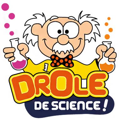 logo ateliers enfant Drôle de science