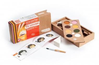 kit-de-maquillage-bio-Namaki-8-couleurs-Vie-sauvage-contenu