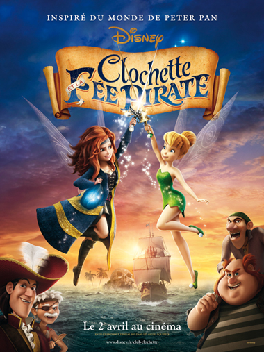 Affiche Clochette Et La Fee Pirate