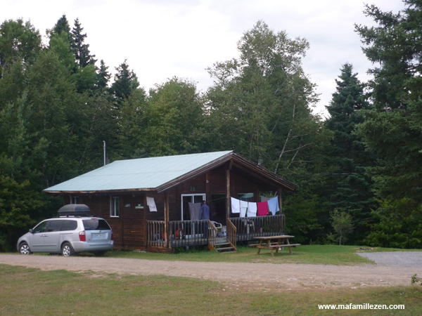 Village Vacances Petit-Saguenay - Chalet en bois