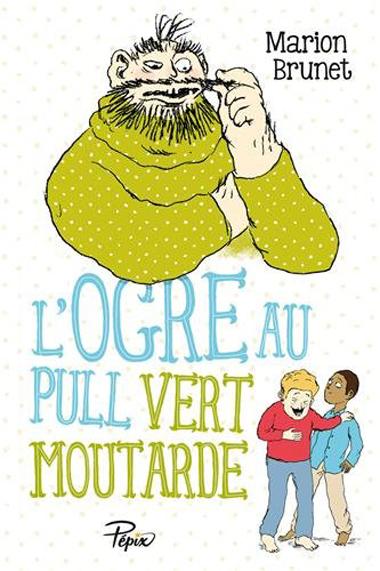 Couv L'ogre Au Pull Vert Moutarde