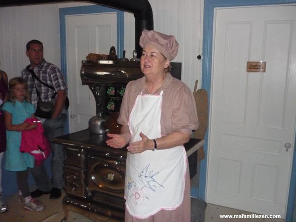 Musée du Cheddar - Visite animée avec Madame Perron