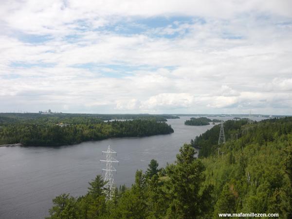 L'Odyssée des Bâtisseurs - Vue panoramique sur le lac Saint-Jean