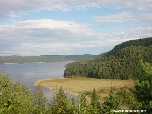 Village Vacances Petit-Saguenay - Vue fjord