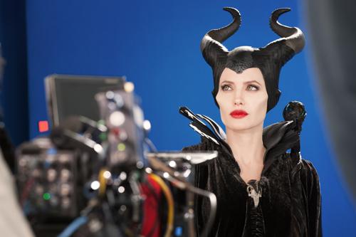 Angelina Jolie est Maléfique - Scène de tournage