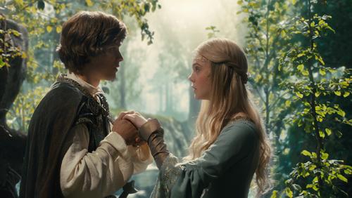 La princesse Aurore et son prince charmant dans Maléfique