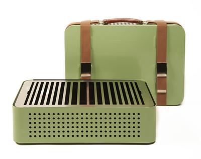 Barbecue de voyage design dans les boutiques Fleux