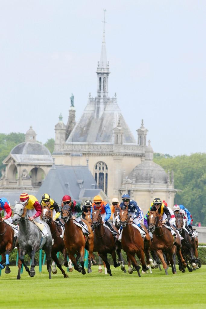 Chantilly - Prix du Jockey Club 01/06/2014 - Tournant du Chateau de Chantilly -