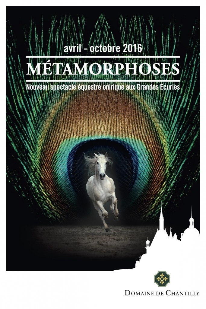 affiche-Metamorphoses-spectacle-equestre-chantilly