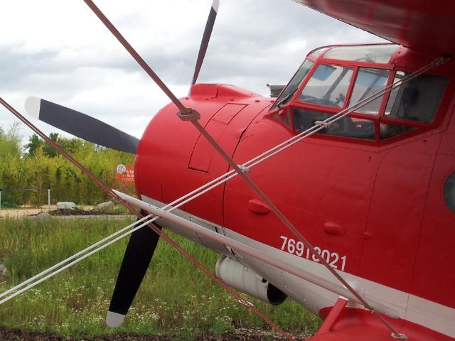 Antonov 2 au Parc du Petit Prince