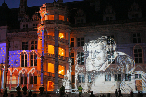 Chateau Royal de Blois_'Ainsi Blois vous est conte_Son et Lumiere 2