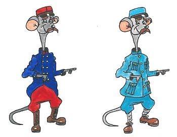 gaspard le rat au Fort de Douaumont