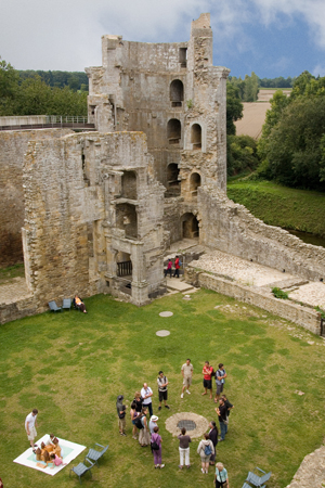 Chateau de la Hunaudaye - Cdts Chateau de la Hunaudaye (2)