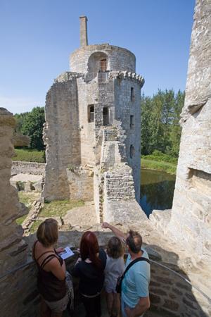 Chateau de la Hunaudaye - Cdts Chateau de la Hunaudaye (3)