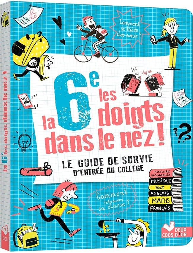 livre La 6e les doigts dans le nez