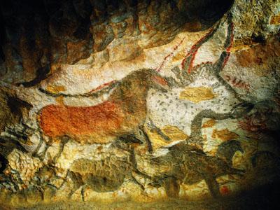 Peintures rupestres grotte Lascaux II