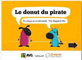 Magda et Mo Le donut du pirate