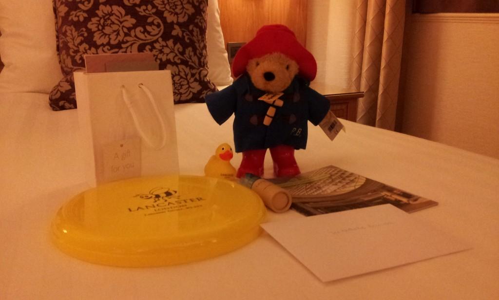 Lancaster Hotel kit enfants