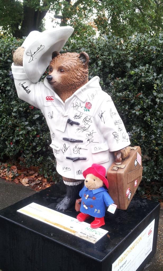 Statue Paddington Hyde Park