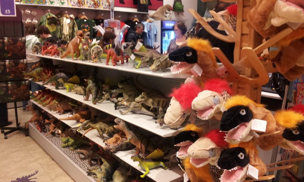 Dino Store du Natural History Museum de Londres