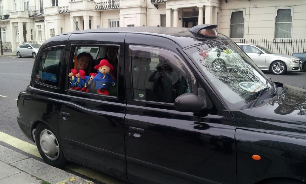 visite guidée londres en taxi