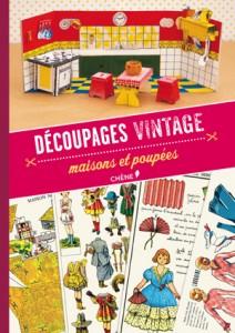 Collection Découpages Vintage, jouets à découper et monter