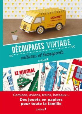 découpages vintages voitures et transports