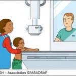 Mon enfant va passer sa première radiographie