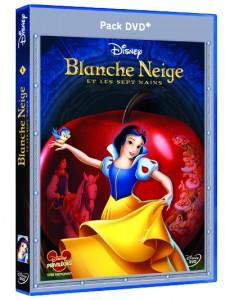 3D DVD+ Blanche Neige et le Sept Nains