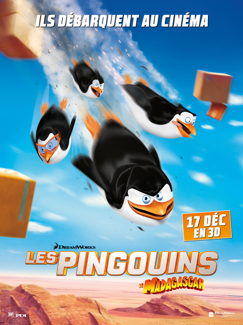 les pingouins de madagascar 2014