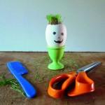 Bricoler une tête à coiffer végétale