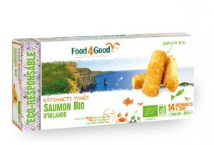 Food4Good- Panes Saumon Bio