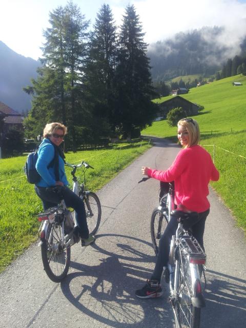 De Gstaad à Lauenen en vélo électrique