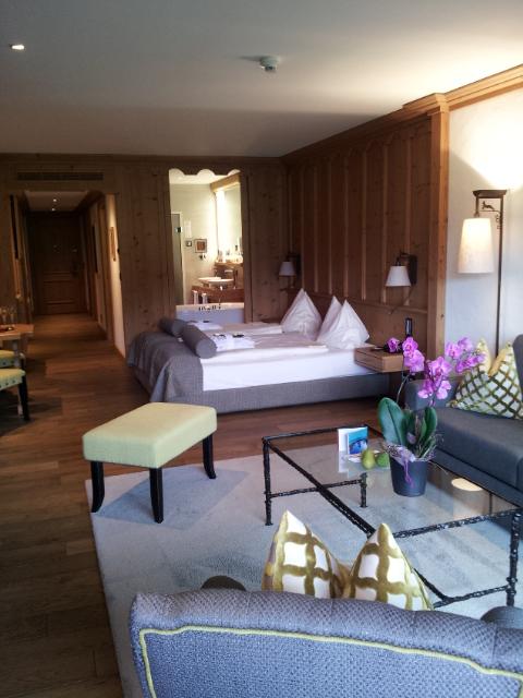 chambre Saanen Hôtel Ermitage