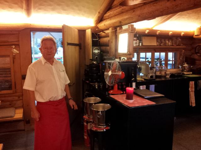 Restaurant Le Petit Chalet à Gstaad