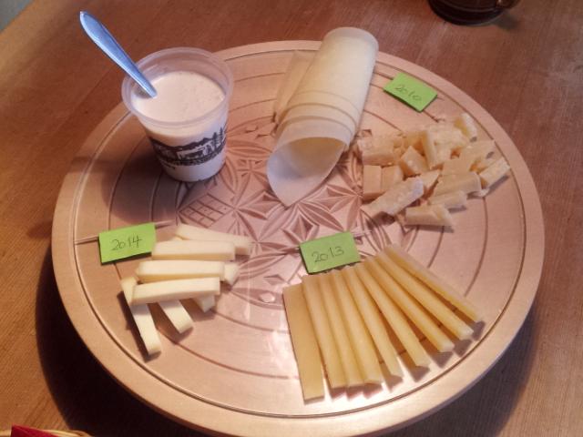 Plateau dégustation fromage suisse