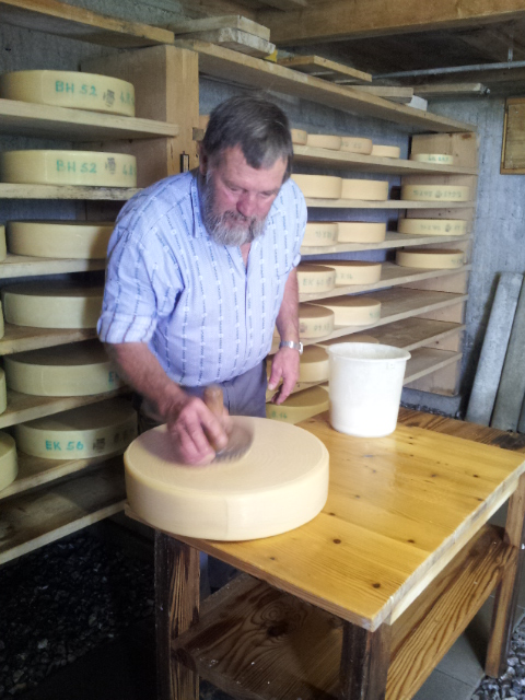Fabrication des fromages suisses