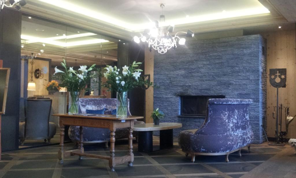 salon hotel Ermitage Gstaadt